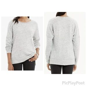 Madewell First Place Gray Sweatshirt Size Large